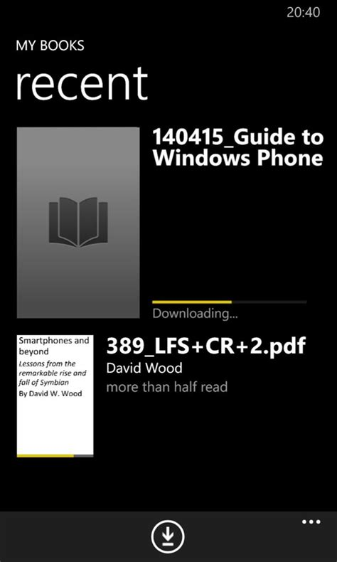 The PDF (Acrobat) Reader round-up for Windows Phone