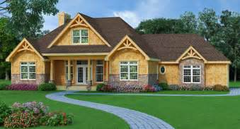 One Story House Plans With Walkout Basement Hill 9233 3 Bedrooms And 2 Baths The House Designers