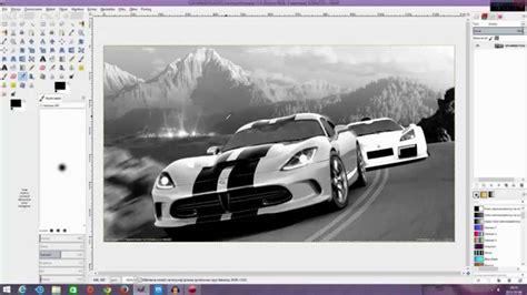 gimp tutorial iracing 1 poradnik gimp jak zrobić czarno białe zdjęcie youtube
