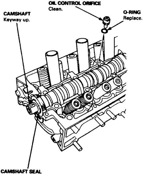 d16y8 vtec camshaft parts wiring diagrams repair wiring