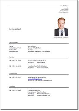 Lebenslauf Vorlage Unterschreiben Muster Lebenslauf Personaldienstleistungen F 252 R Industriebranchen Triphaus Executive Search