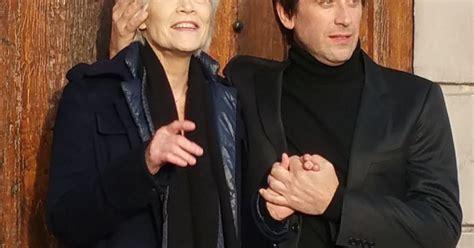 francoise hardy et son fils exclusif fran 231 oise hardy et son fils thomas dutronc se