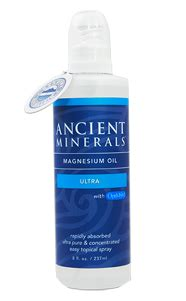 Magnesium Spray Detox by Ancient Minerals Magnesium Ultra With Msm 237ml