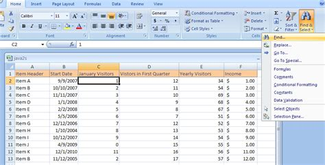 format workbook excel 2007 tab in excel 2007 cell find cells with conditional