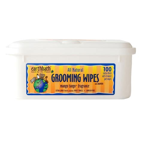 mango for dogs earthbath mango grooming wipes for dogs naturalpetwarehouse