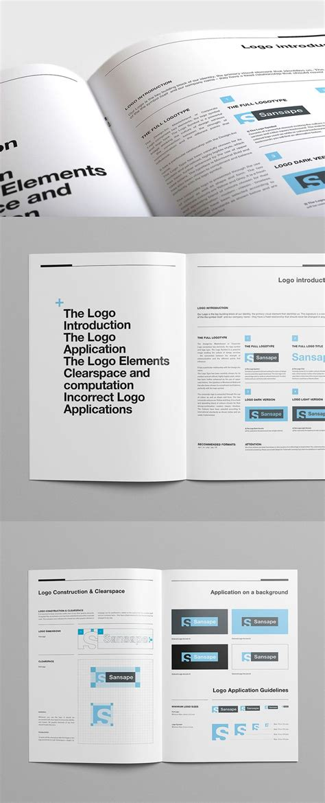 25 Best Brand Guidelines Template Ideas On Pinterest Brand Guidelines Brand Manual And Manual Brand Manual Template Free