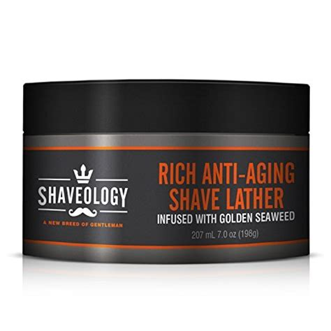 Premium Anti Aging 17gr premium rich anti aging shave lather infused with golden import it all
