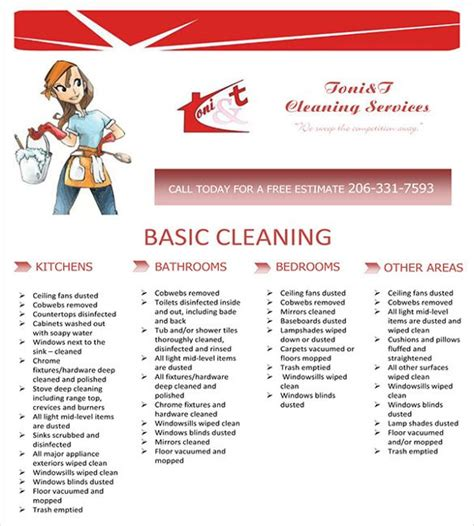 Templates For Cleaning Flyers | cleaning service flyer template house cleaning flyer