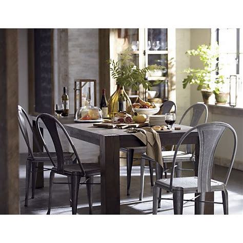 big sur dining table dining table big sur dining table crate and barrel