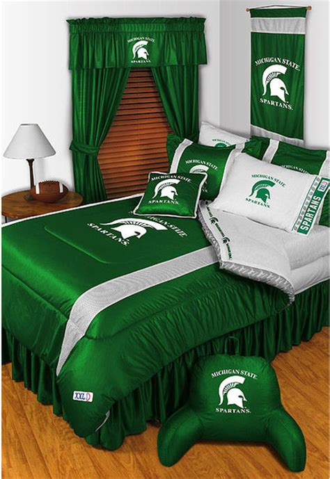 detroit lions bedding ncaa michigan state spartans bedding and room decorations
