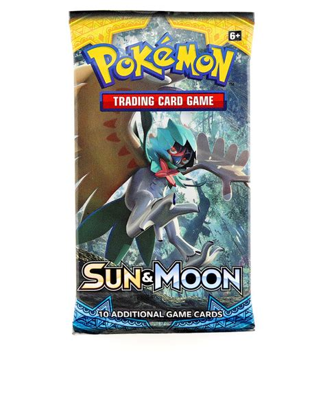 tcg sun moon booster pack card puzzles gifts toys megastore