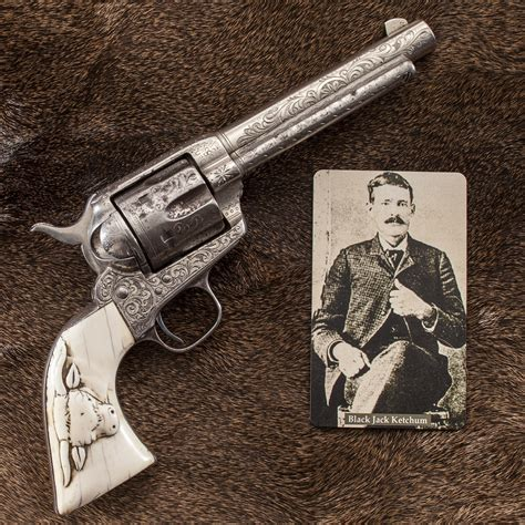 4 revolvers used by lawmen and outlaws of the