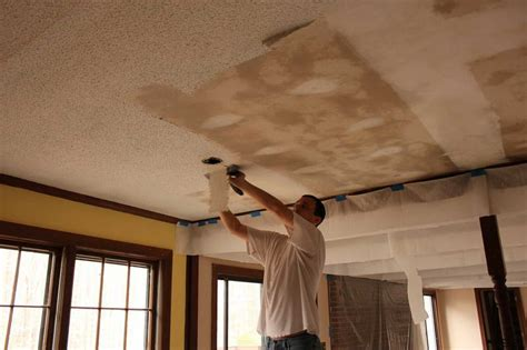removing popcorn ceiling with asbestos cost of removing asbestos popcorn ceiling images how to