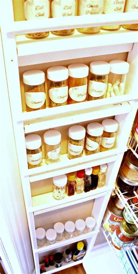Diy Spice Rack Diy Project Aholic Diy Sprice Rack No Counter Required