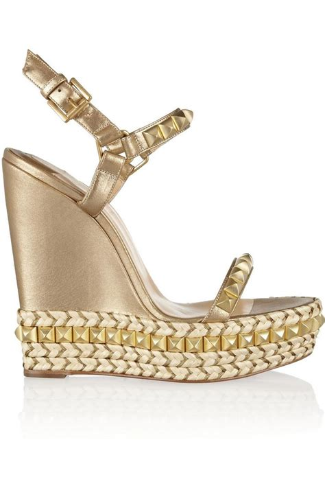 Wedges Vintage Cl 76 best shopping shoes louboutin wedges images on