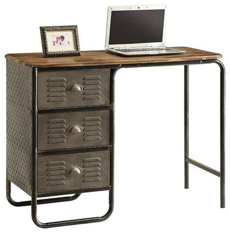 locker desk locker collection desk industrial desks and hutches