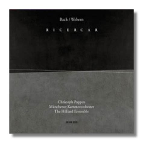 j s bach ricercar a 6 the musical classical net review j s bach webern ricercar