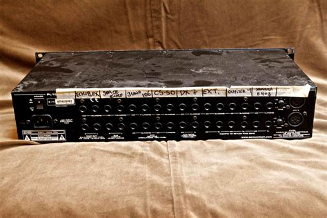 Samson Rack Mixer by Samson Pl1602 Rack Mixer 2000 S Effect Pedal For Sale