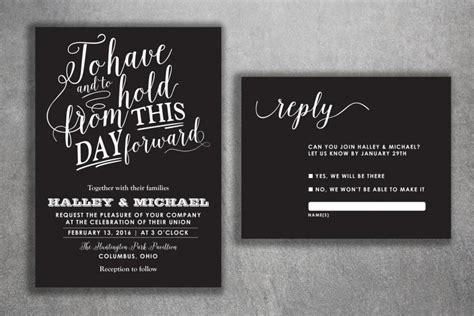 Printed Wedding Invitations Cheap by Chalkboard Wedding Invitations Set Printed Cheap Wedding