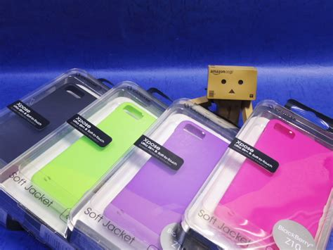 Softjacket Blackberry Z10 White blackberry z10用ケース capdase soft jacket 2 xpose with screen