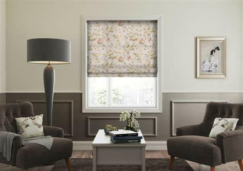 cortinas estores modernos telas cortinas estores modernos con detalles de flores