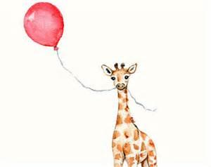 Pink And Zebra Bedroom Ideas giraffe illustration etsy