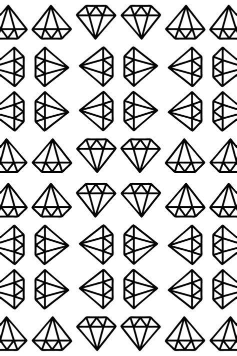 diamond pattern drawing really love the old school 2d diamond d motifs