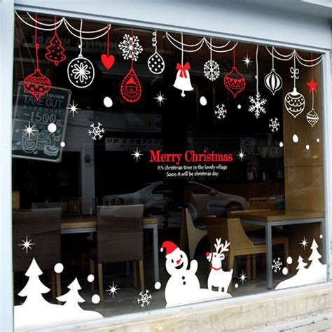 wall sticker shop 2016 vinyl wall decal rings snowman tree wall sticker shop glass window