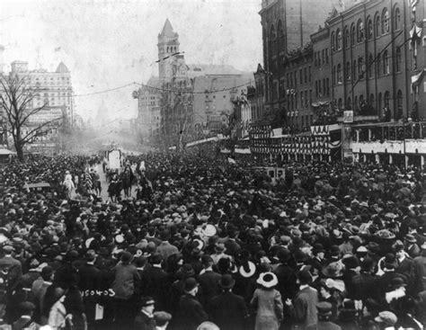 1913 washington dc pennsylvania ave suffrage parade