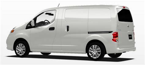 Vehicle Wrap Templates For The Nissan Nv200 Nissan Nv200 Template