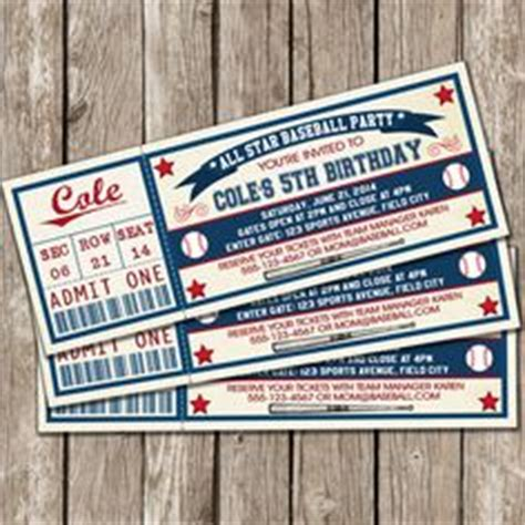printable ball tickets 1000 images about wiffle ball party on pinterest ticket