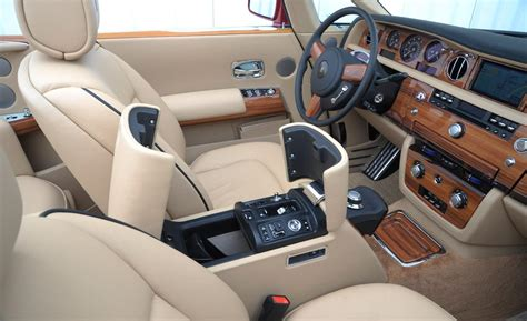 roll royce ghost interior car and driver