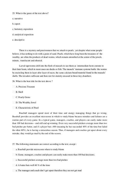 contoh biography text dan soal contoh soal essay explanation text dan jawabannya