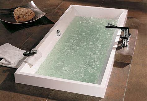baignoire et combin礬e baignoire villeroy boch squaro salle de bains ile de