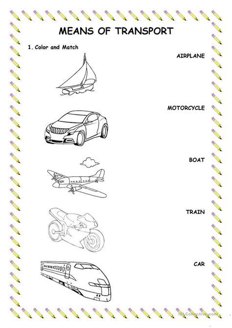 printable transportation worksheet kindergarten preschool worksheets 187 transportation preschool worksheets