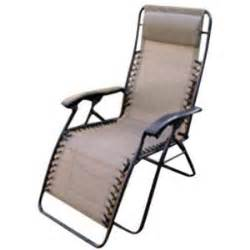 folding reclining cing lawn patio lounge chair golden