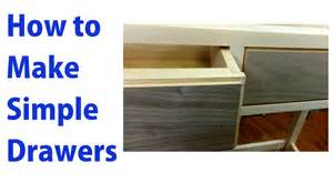 how to make simple wooden drawers woodworkweb