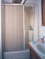 rv shower doors and curtains