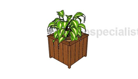 Free Planter Box Plans free planter box plans howtospecialist how to build