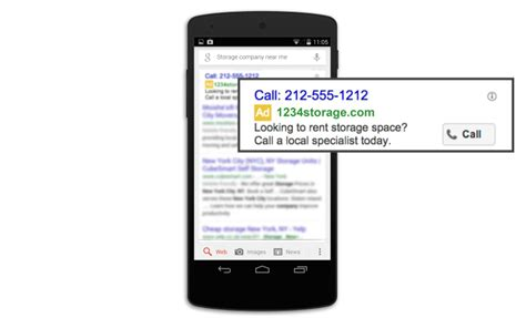 mobile calls adwords debuts mobile call only caign type to