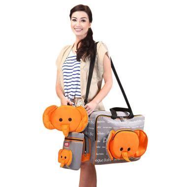 Tas Bayi Tas Perlengkapan Bayi Bag Dialogue Owl Medium jual dialogue baby tas besar bayi tempat botol tas kecil series orange