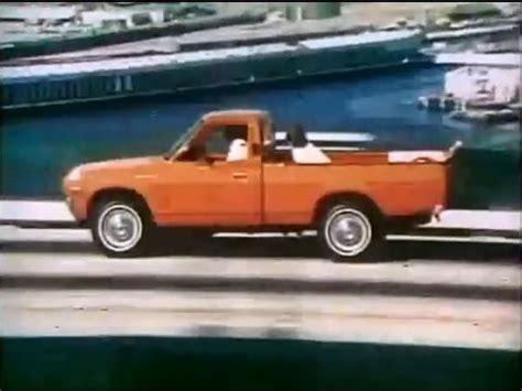 film pick up 1975 datsun lil hustler pickup truck commercial 1975 youtube