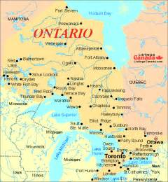 city map canada ontario regions map map of canada city geography
