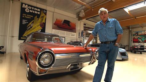 s garage worth leno shows car that runs on tequila and perfume