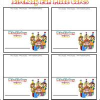 printable birthday place cards kids mickey mouse birthday party ideas games birthday