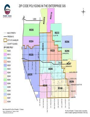 zip code map chandler az chandler az zip code map my blog