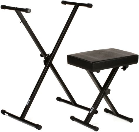 keyboard stand and bench on stage stands kpk6500 keyboard stand and bench pack