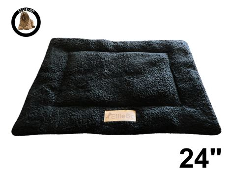 Bo Mat by Ellie Bo Black Sherpa Fleece Cage Mat To Fit Ellie Bo 24 Inch Cage Only Cages Co Uk