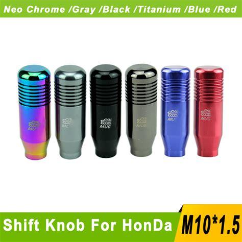 Cool Gear Shift Knob by Aliexpress Buy Mugen Aluminum Gear Knob M10x1 5 Cool