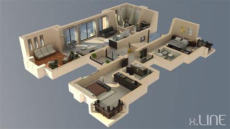 excellent 3d floorplan designs model rendering 216 best images about 3d housing plans layouts on